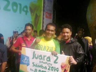 JUARA 2 Kampung SAMBA 2014