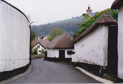 Dartmoor Village, England