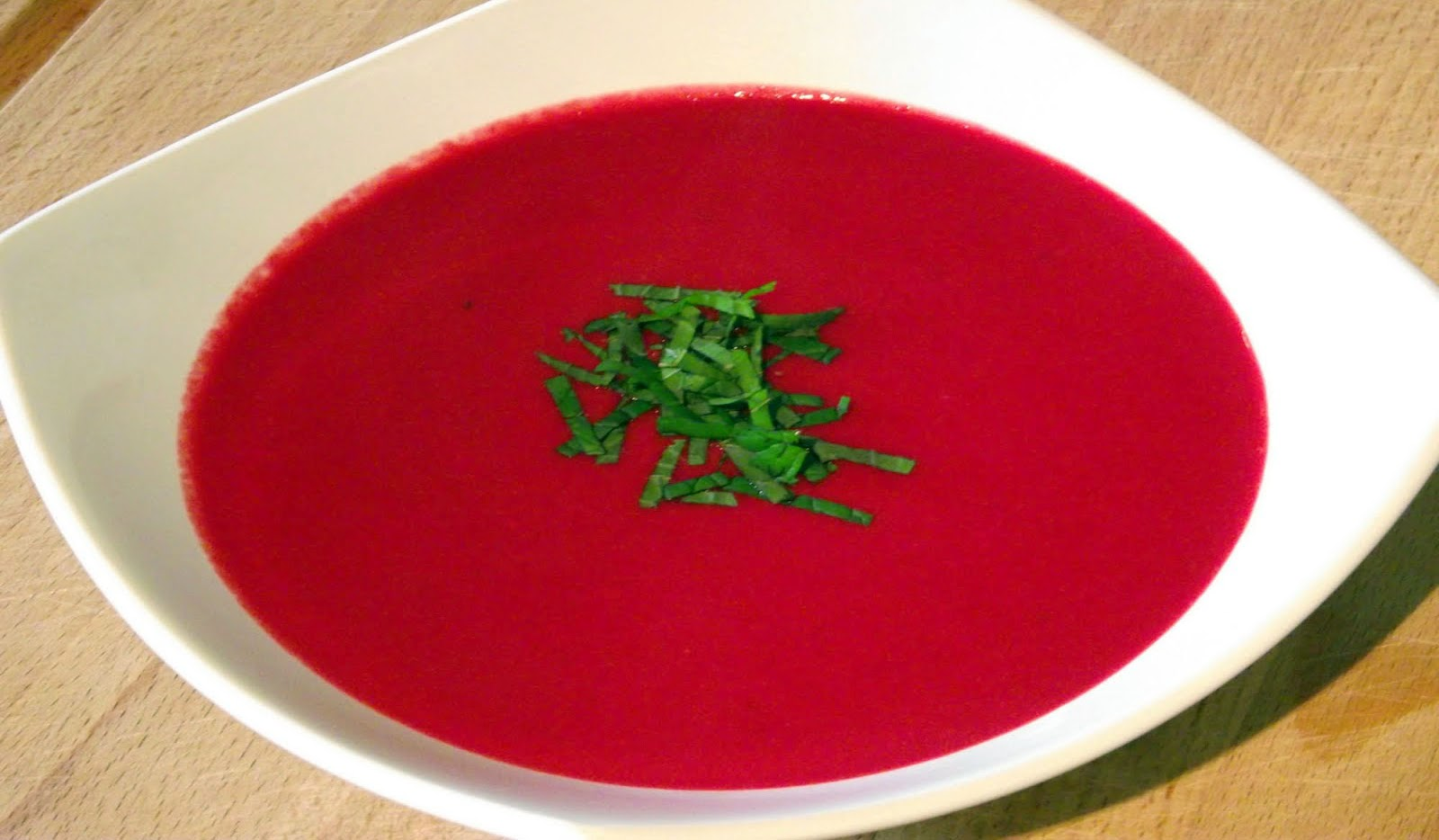 Soup Tuesday: Beetroot, Lime and Wasabi Soup