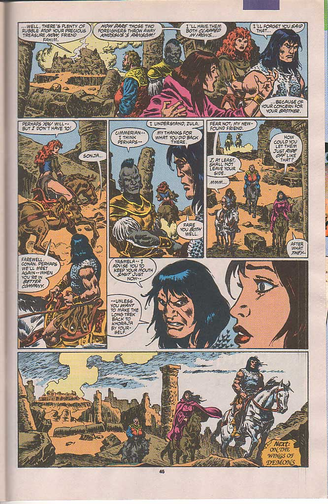 Conan the Barbarian (1970) Issue #250 #262 - English 38