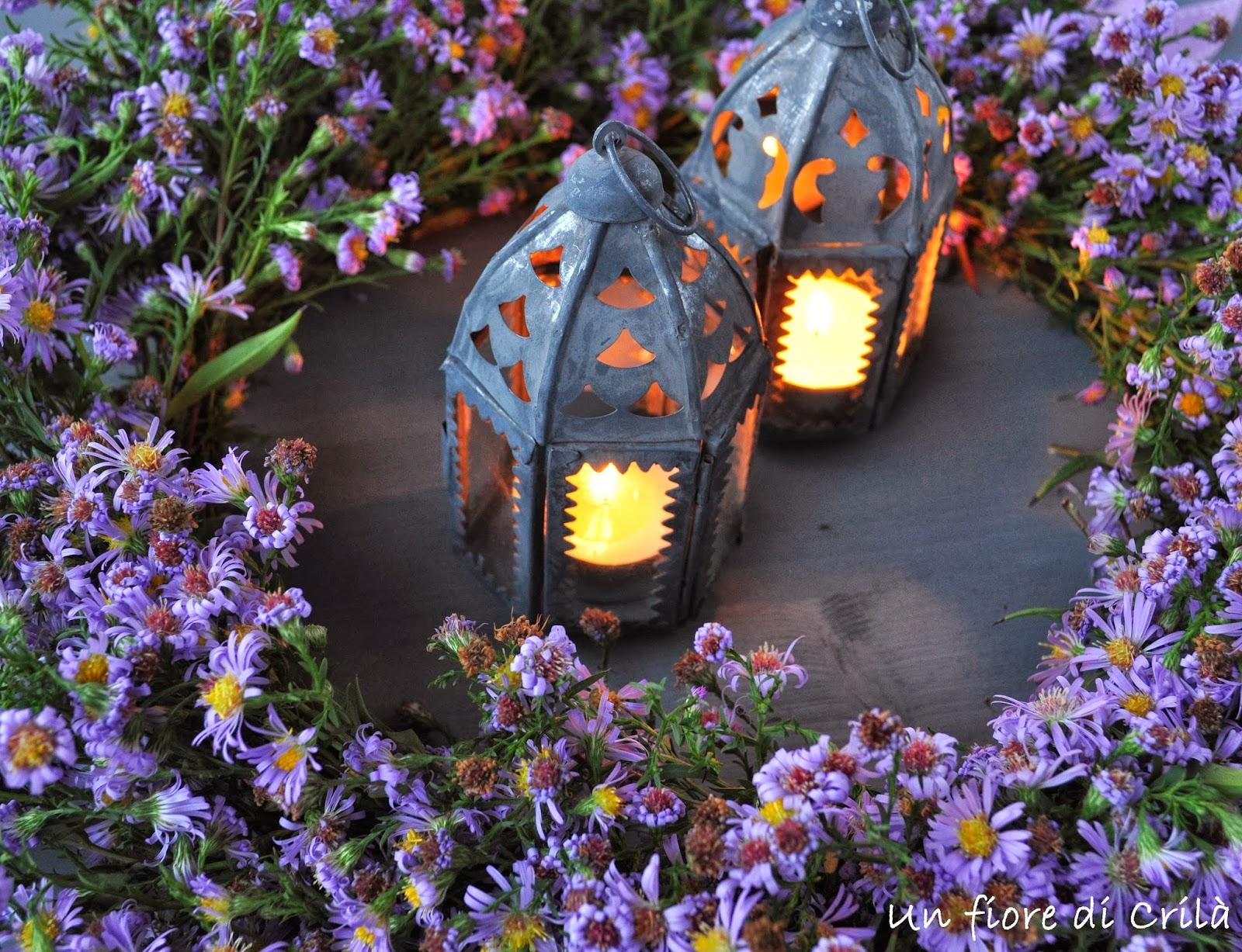 Un fiore di cril ghirlanda settembrina - Settembrini fiori ...