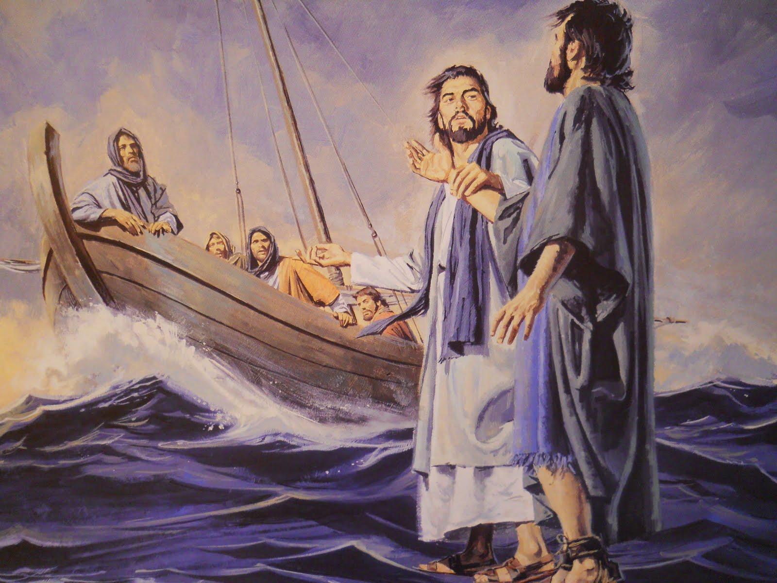 Jesus Walking On Water Tattoo Top Gospels On Images ...