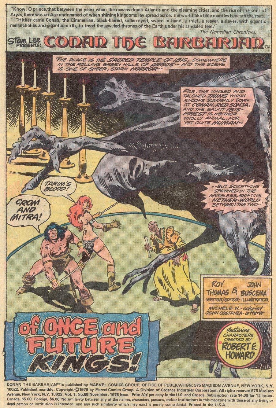Conan the Barbarian (1970) Issue #68 #80 - English 2