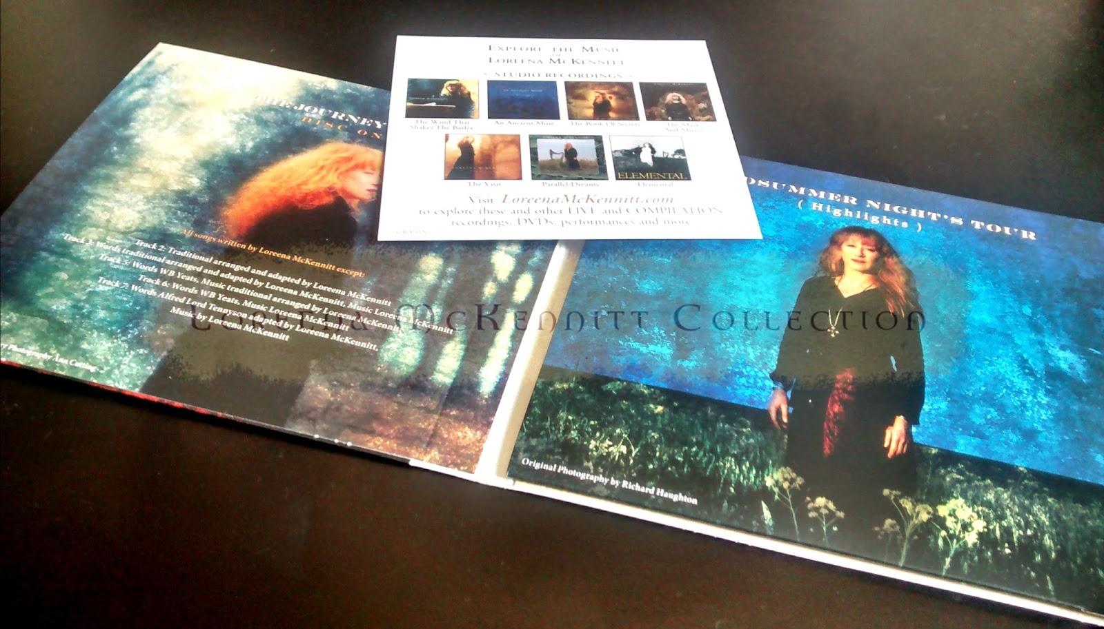 loreena mckennitt collection 2014 the journey so far 2cd