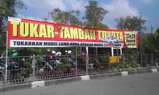 Tukar Tambah Toyota di Lippo Malls Sidoarjo Jawa Timur