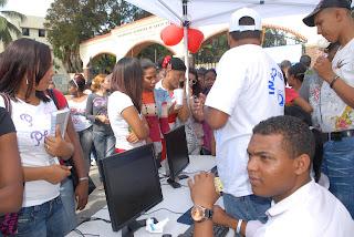 Comando de campaña del  PRD  realiza  jornada de inscripción y carnetización de nuevos votantes.