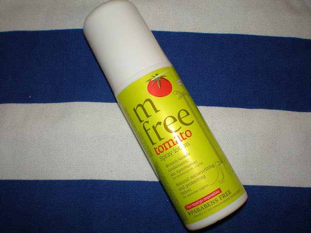 M free Tomato Spray lotion