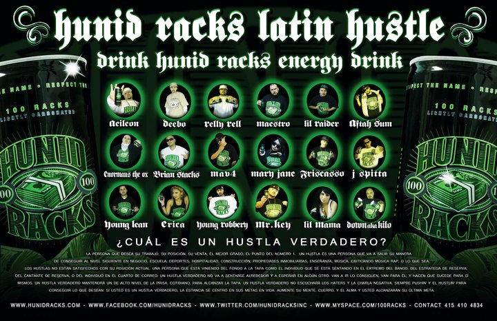 Hunid Racks Latin Hustle