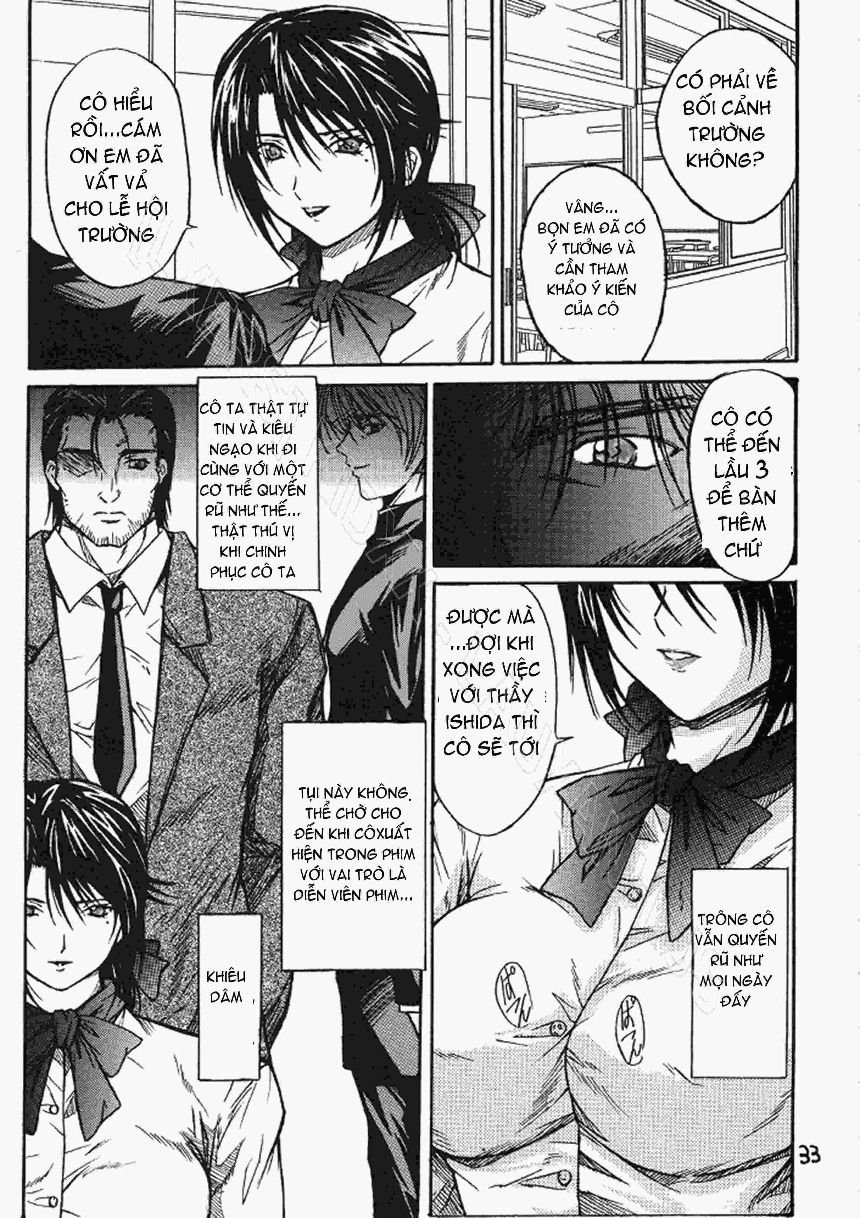 TruyenHay.Com - Ảnh 32 - Ryoujoku Rensa Chapter 1