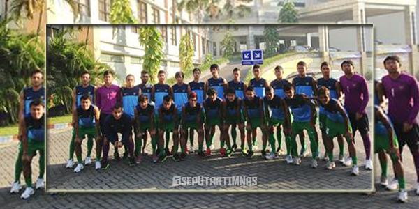 Lawan Gresik United, Timnas U-19 menang 4-0