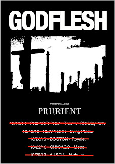Godflesh 2013 US Tour Postponed