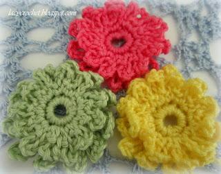 easy crochet daisies