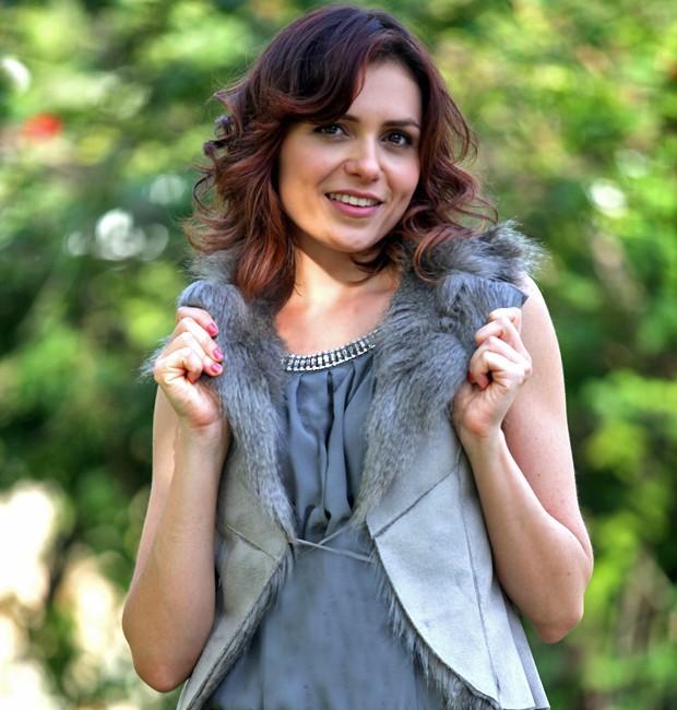 Monica Iozzi será uma patricinha em Alto Astral (Foto: Pedro Curi/ TV Globo)