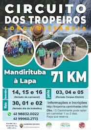 Caminhada no Paraná em 2021