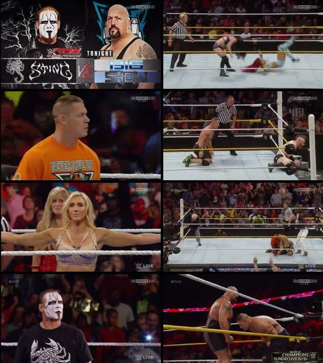 WWE Monday Night RAW 14 Sep 2015 HDTV 480p