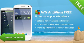 descarga el Antivirus AVG gratis para tu Smartphone