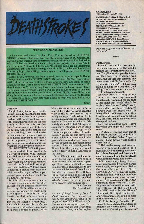 Deathstroke (1991) Issue #55 #60 - English 24