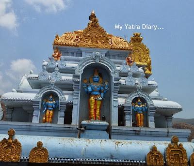 ISKCON Tirupati Temple architecture, Andhra Pradesh
