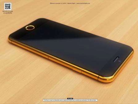 iPhone 6 4,7-inch versi Gold