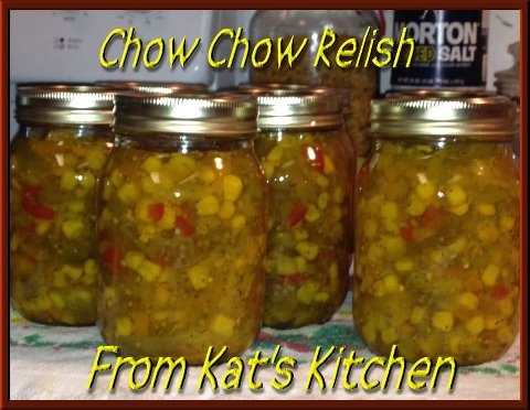 Old Fashioned Southern Chow Chow