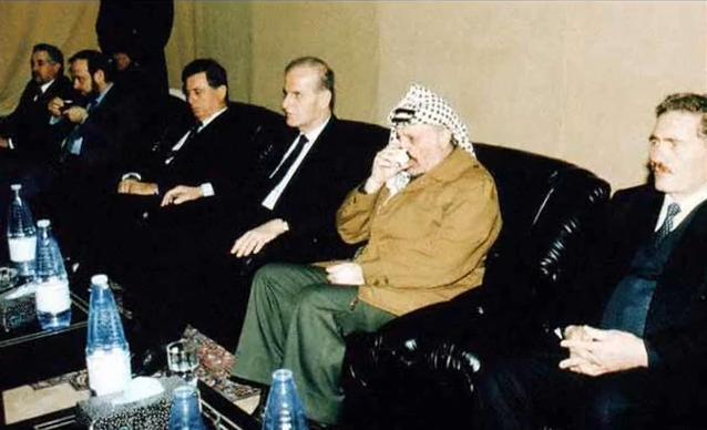 في عزاء باسل