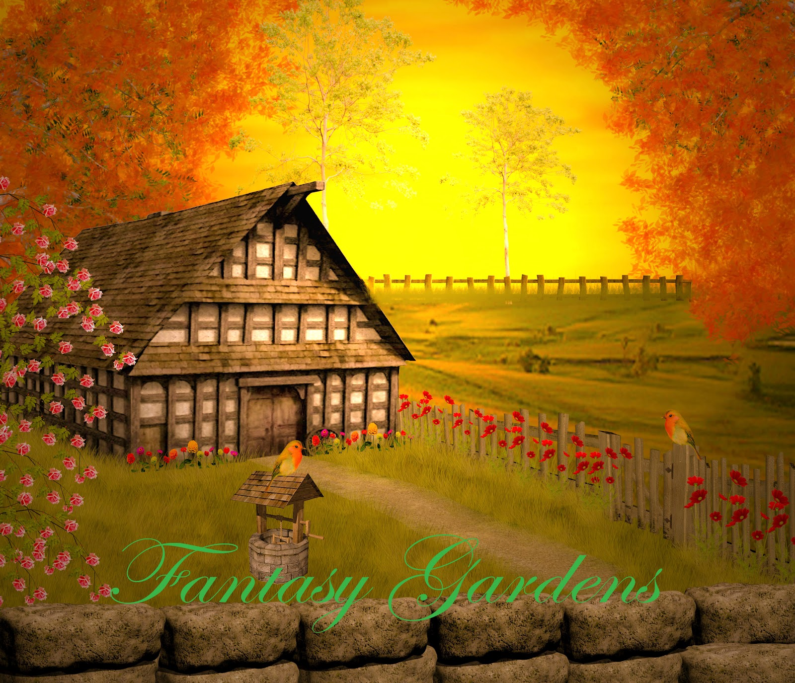 Digital Fantasy Backgrounds PNG Tube Files Tubes PSD Layers