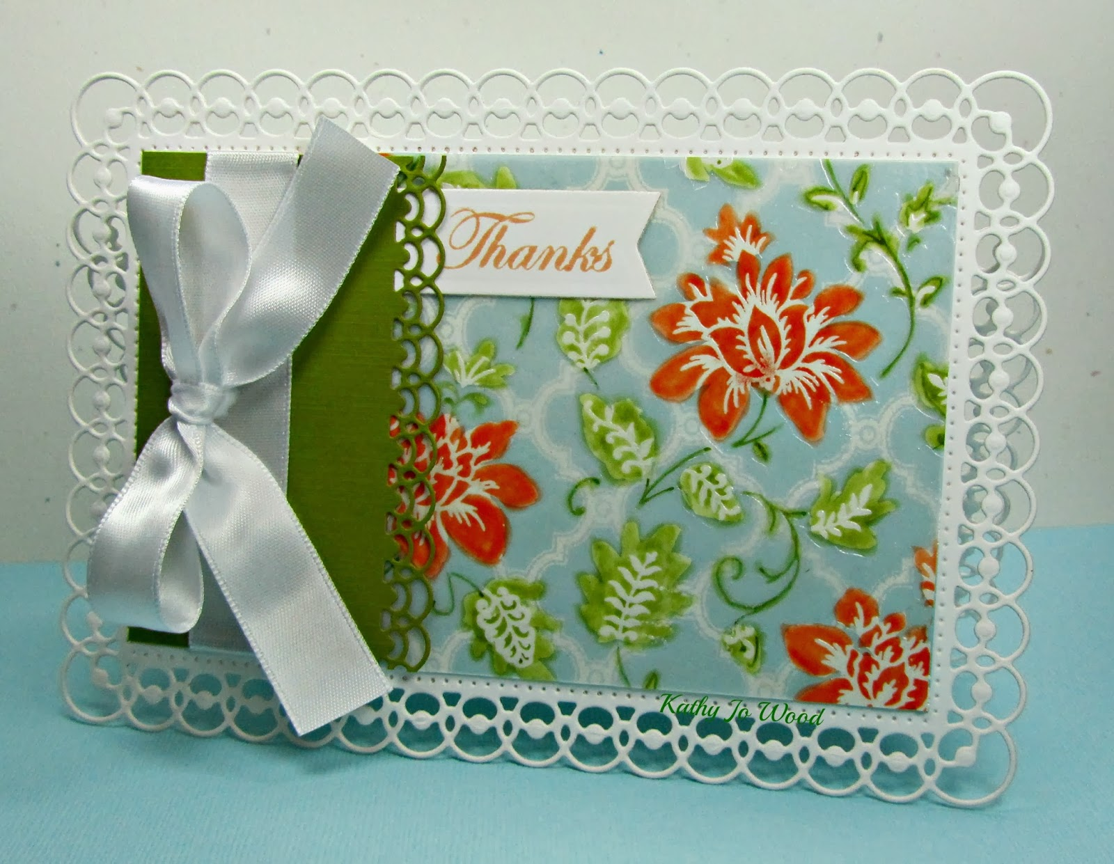 card, Detailed scallops, idea, Just Rite, JustRite, Moroccan Background, Secret Garden, Spellbinders, thanks, to make,