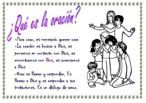 CATEQUESIS DE CONFIRMACIÓN: ORACIÓN