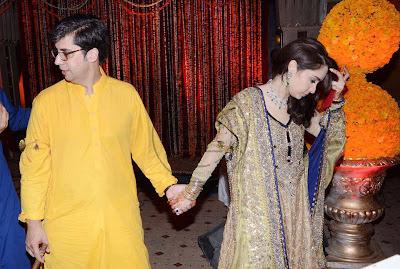 Mehndi Pictures Of Juggun Kazim In Pakistan Celebrities