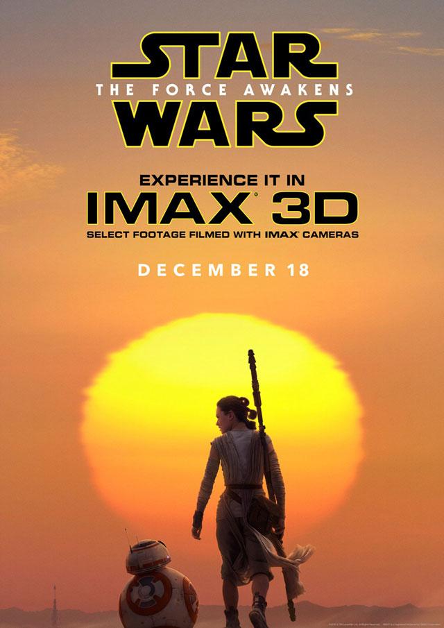 スター・ウォーズ フォースの覚醒 IMAX ポスター