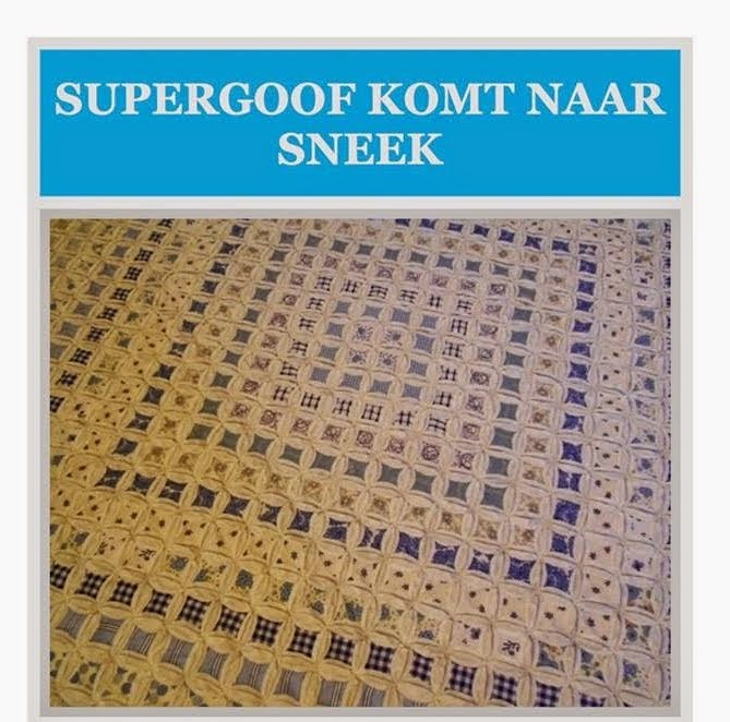 Ramen Lappen en kleine Supergoof Trunkshow in Sneek op 10 oktober zit VOL