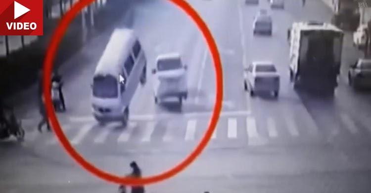 Levitating Cars Crash