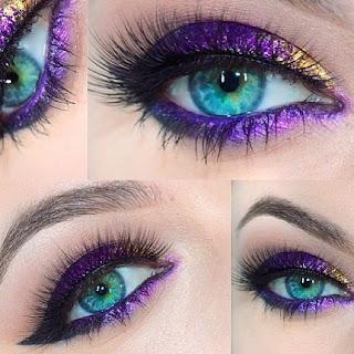 Işıltılı  Göz Makyajı Nasıl  Yapılır ?