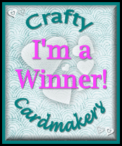 Crafty Cardmakers Winner