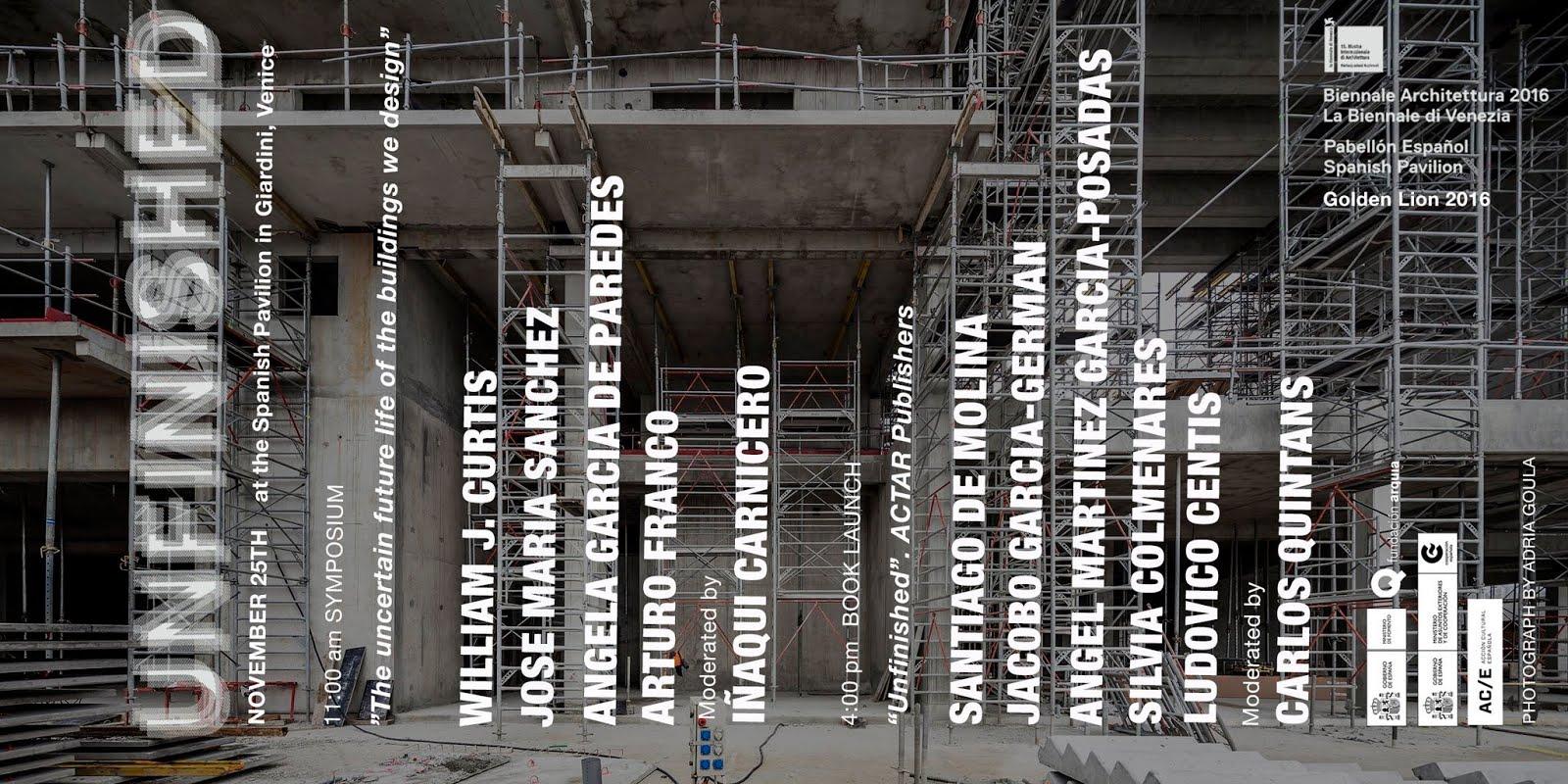 Presentación del libro UNFINISHED