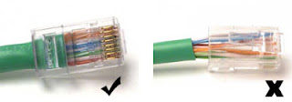Cara Sharing Data Dengan Kabel LAN ( UTP )