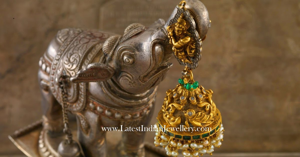 A Masterpiece Of Jhumka Design