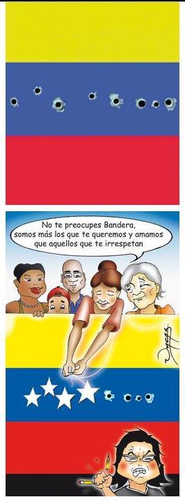 PROPAGANDA DE GUERRA DE LA DERECHA