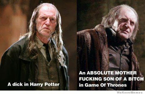 game of thrones memes Walder Frey You Have Got Girls But Your an Ass