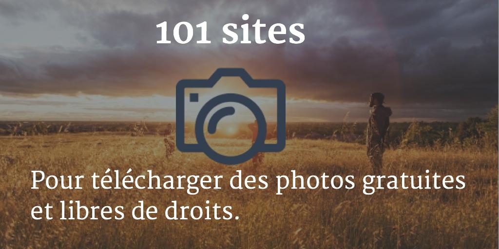 101 sites pour télécharger des photos gratuites et libres de droits