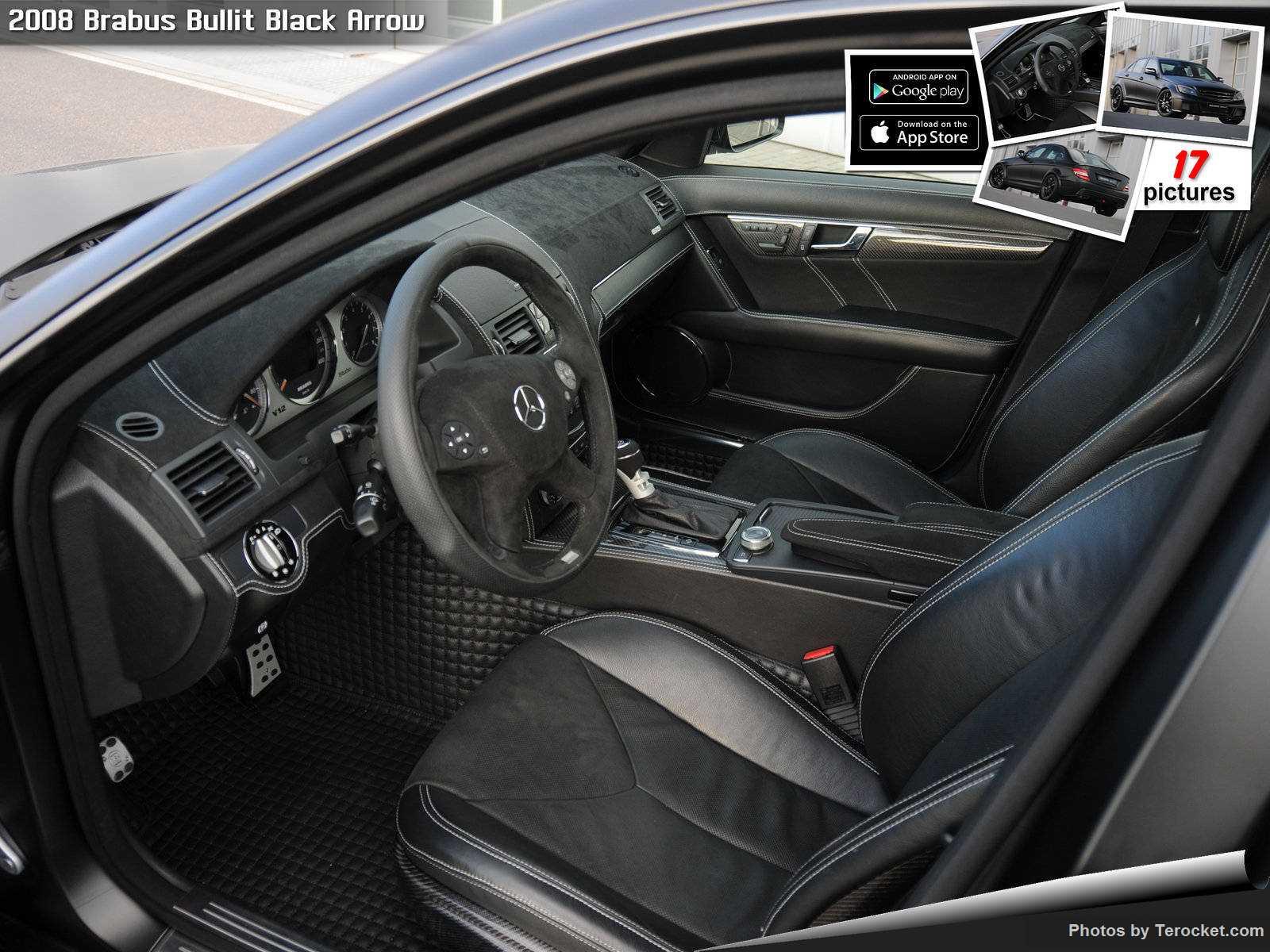 Hình ảnh xe ô tô Brabus Bullit Black Arrow 2008 & nội ngoại thất