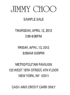 Jimmy Choo | Designer | Shoes | Handbags | Sample Sale