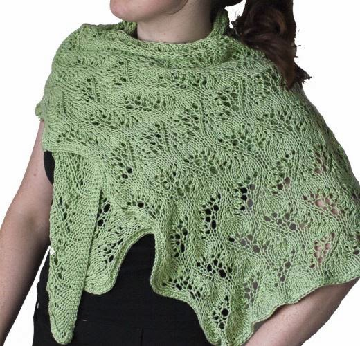 FREE PATTERN: Summer Waves Wrap using Sunseeker Yarn by Cascade Yarns