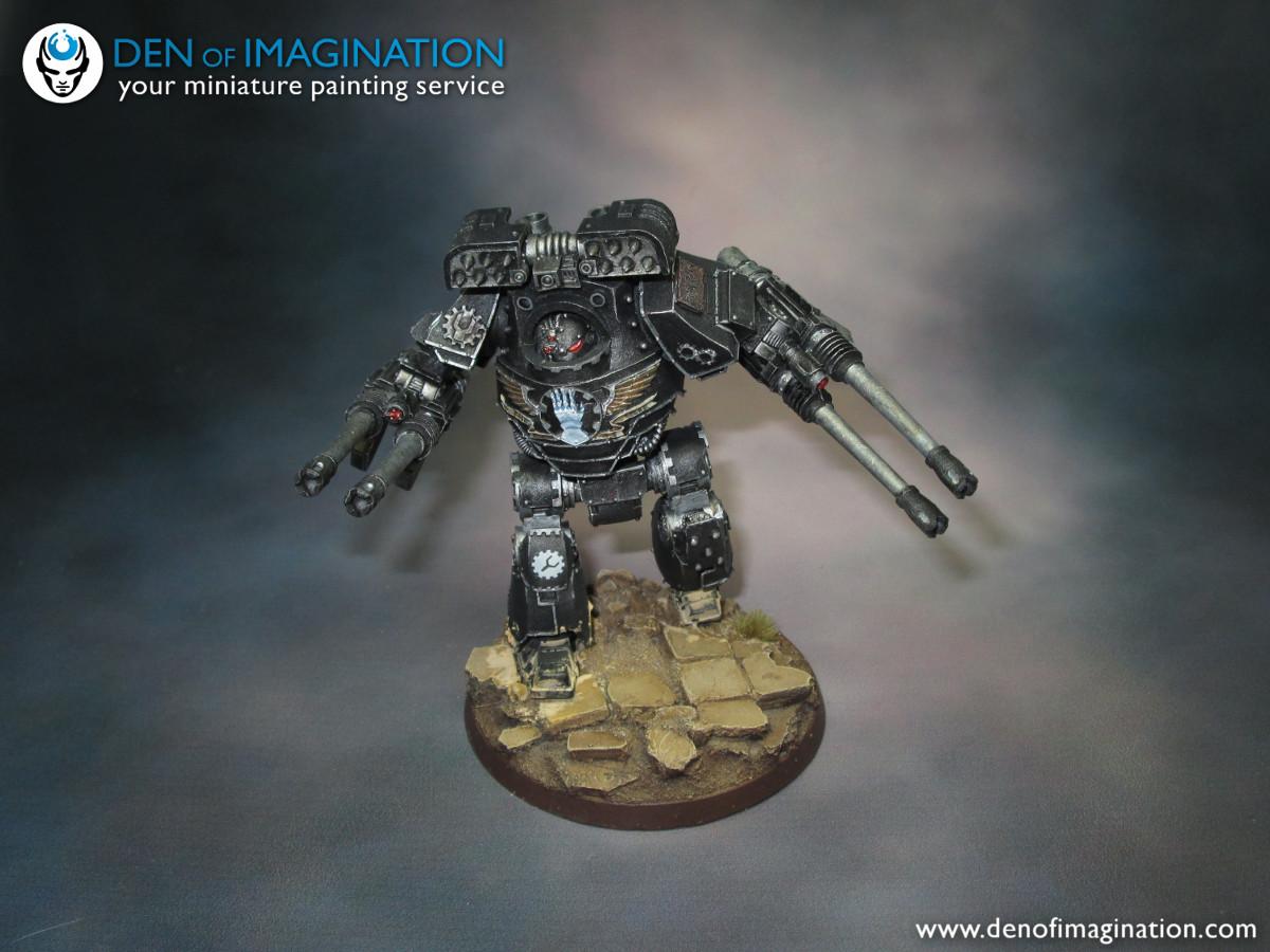 Warhammer 40000-Space marine-Dreadnought venerable-Plaque avant 2