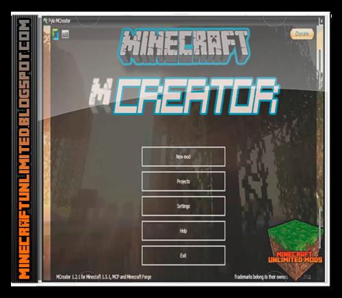 MCreator mod para Minecraft
