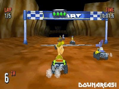 ATV Racers PSX Game