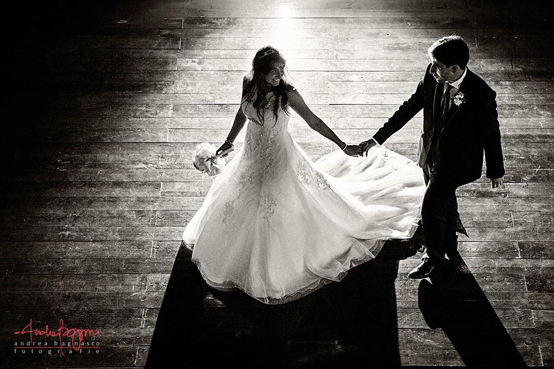 sposi in controluce matrimonio Millesimo