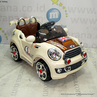 Mobil Mainan Aki Junior TR1207 Mini Cooper