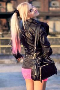Bershka pink dress