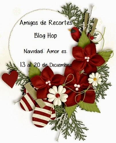 Blog Hop Amigos de Recortes